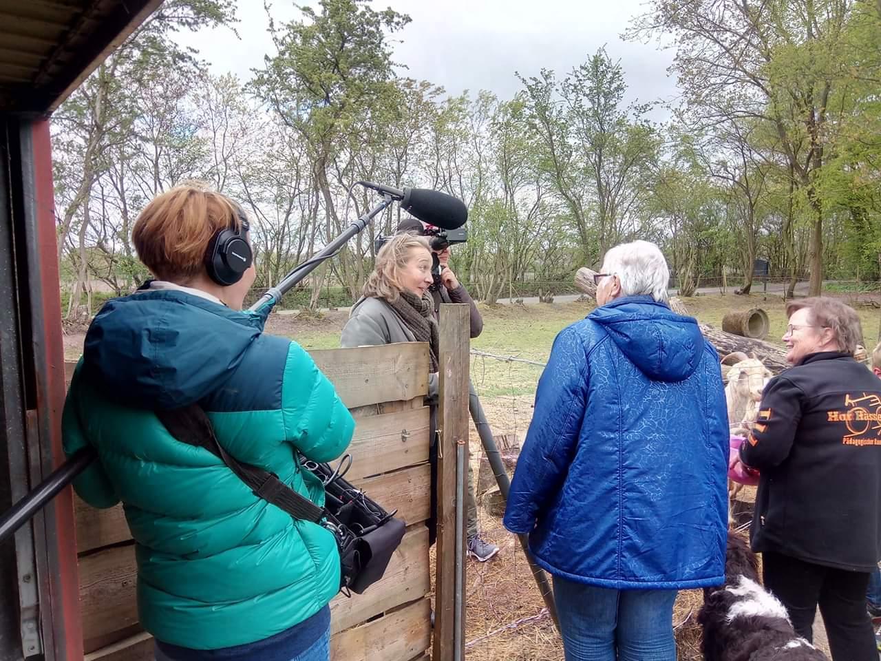 RTL Nord begleitet Besuch von Friesischem Wohnpark Niebüll